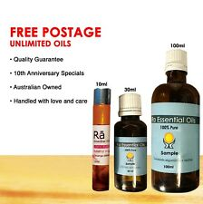 Essential Oils 100% Pure 10ml,30,100ml Therapeutic Aromatherapy Ra Essential Oil