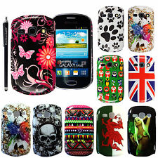 VARIOUS PRINTED HARD SHELL PHONE CASE COVER FOR SAMSUNG GALAXY FAME S6810+STYLUS