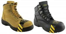 WOODLANDS DARWIN MENS INDUSTRIAL WORK SAFETY BOOTS/STEEL TOE/STEEL CAP/LACE UP