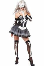 Sexy Skeleton Masquerade Adult Halloween Costume