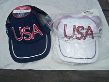 New Cap Hat 2004 Olympics USA Back Slide For Size Use  Drop Down Box Chose Color