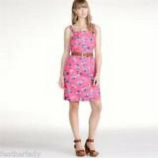 La Redoute womans PINK PRINT retro pinafore dress UK 14 16 18 22 EU 42 44 46 52