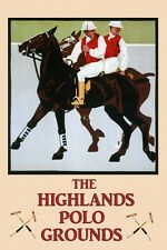 Polo Horses Sport  Vintage Poster Repro FREE S/H