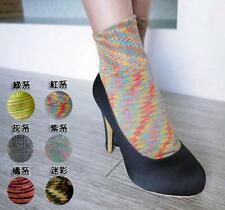 Cotton Ankle Socks Camouflage Womens Girls Casual Ladies Colorful Ankle High