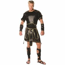 ADULT MENS SPARTAN WARRIOR COSTUME ROMAN SOLDIER GREEK GLADIATOR 300 COSTUMES