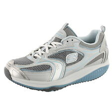 SKECHERS SHAPE UPS WOMENS 12320 XF-ACCELERATORS COLOR: SILVER BLUE