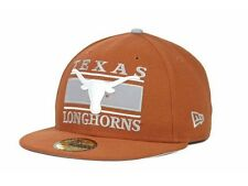 """New Era 59Fifty """"Texas Longhorns NCAA Frosh Fitted Cap"""" Hat $32"""