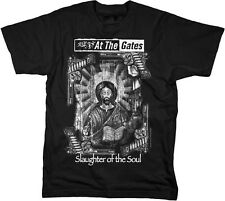 AT THE GATES - Slaughter - T SHIRT S-M-L-XL-2XL Brand New - Official T Shirt