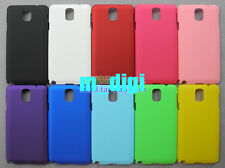 Hard Rubberized Plastic Back Case Cover for Samsung Galaxy Note 3 / N9000