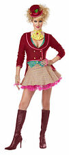 Adult Sexy Mad Hatter Alice In Wonderland Costume Halloween