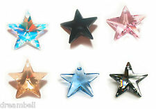SWAROVSKI ELEMENTS 6714 Star Pendant Variable Colors & Sizes