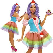 Adult Cupcake Princess Costume Candy Girl Celebrity Katy Perry Party Outfit
