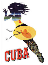 Cuba Travel Print - Framed And Memo Board Available