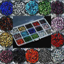 ss10 / 3mm Iron On Hot Fix Rhinestones in Varies Colours and Lots 720 - 7200pcs