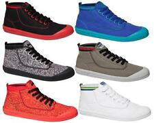 DUNLOP VOLLEY HIGH LEAP MENS CASUAL/SNEAKERS/CANVAS/LACE UP/HI TOP SNEAKERS