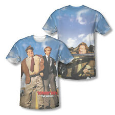 Tommy Boy Film Movie Cover Sublimation All Over T-shirt Chris Farley David Spade