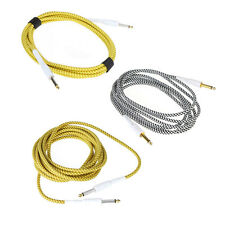 3M/5M Braided Instrument Guitar Cable Cord Lead 10ft/16FT For Guitar Keyboards