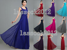 NEW Bridesmaid Evening Party Formal Prom Dresses SZ 6 8 10 12 14 16 18 or custom