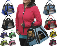 Oxgord Pet Carrier Soft Sided Cat Dog Comfort Travel