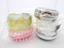 Misc. Color and Shape Fashion Bracelets - Great for Gift Giving!