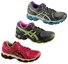 ASICS GEL NIMBUS 14 WOMENS PREMIUM CUSHIONED RUNNING SHOES/SNEAKERS/TRAINERS