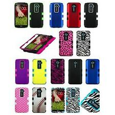 Tuff Hard Cover Case  For LG Optimus G2/LS980/D801 D800 AT&T T-Mobile Sprint