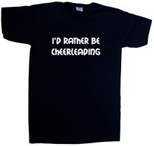 I'd Rather Be Cheerleading V-Neck T-Shirt
