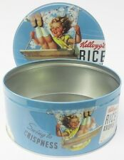 Salco Kelloggs Rice Krispies Storage Tin 5085