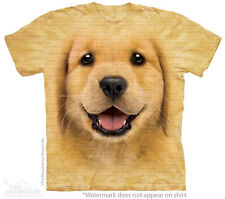 Golden Retriever Puppy Dog The Mountain Adult & Child Size T-Shirts