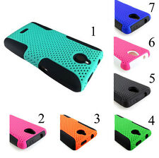 for Huawei Valiant / Ascend Plus H881C Mesh 2 in 1 Hybrid Cell Phone Case Cover