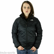 THE NORTH FACE LADIES THERMAL JACKET QUILTED BLACK SIZE XS S M L XL COAT WARM