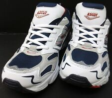Men's White/Navy/Red Oxygen ASCOT Trainers