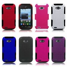 For ZTE Savvy Z750c Awe N800 Reef N810 Cover Apex Hybrid Silicone Case