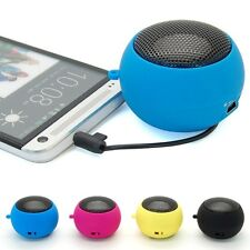 Portable Mini Hamburg USB 3.5mm Stereo Speaker For Tablet PC iPhone iPod Laptop