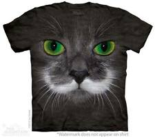 Big Face Hamilton the Hipster Cat The Mountain Adult & Child Size T-Shirts
