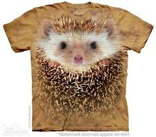 Big Face Hedgehog The Mountain Adult & Child Size T-Shirts