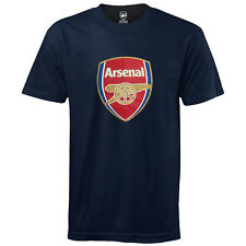 Arsenal FC Official Football Gift Mens Crest T-Shirt (RRP £14.99!)