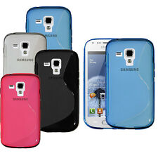 S-Line Soft TPU Gel Silicone Case Cover Skin For Samsung Galaxy S Duos GT-S7562