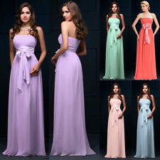 2015 New CHEAP Beaded Long Formal Dresses Wedding Gown Evening Prom Party Dress