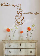 Coffee Sign Window Wall Art Sticker Decal Fashion Decoration Cafe Kitchen 41cm