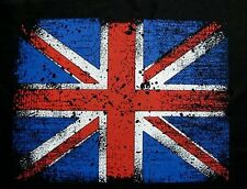 BRITISH UNITED KINGDOM ENGLAND ENGLISH UNION JACK FLAG T-SHIRT WS108