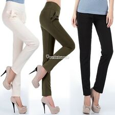 Fashion Women's Small Feet Harem Pants Long Trousers OL Casual Slim Pants W3LE