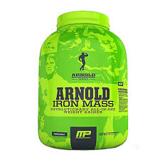 MusclePharm Arnold Series Iron Mass 2.27kg 5lbs All in One Weight Gainer Combat
