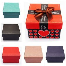 Gift Box Case For Bangle Bracelet Jewelry Watch With Foam Pad Inside TT 6 Colors