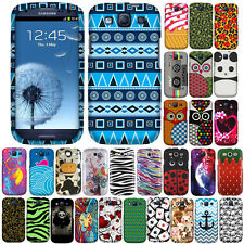 For Samsung Galaxy S 3 i9300 I535 T999 L710 I747 Cow Snap On HARD Case Cover