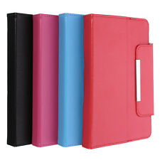 """Universal 7"""" Leather Stand Case Folio Cover For 7'' 7 inch Android Tablet PC MID"""