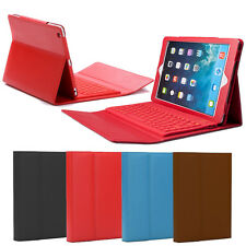 Leather Wireless Bluetooth Keyboard Case Cover With Stand For Apple iPad 1/2/3/4