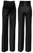 Elegant formal maternity trousers pants classic Over Bump 6 8 10 12 14 16 18