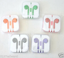 3.5mm Headset headphones earphones Stereo In-Ear for mp3 ipod iphone 6 3 4 5