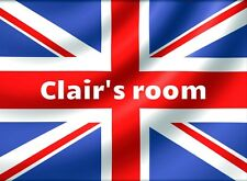 British Flag room wall art Poster personalized Free